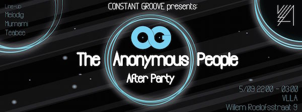 THE ANONYMOUS PEOPLE AFTERPARTY