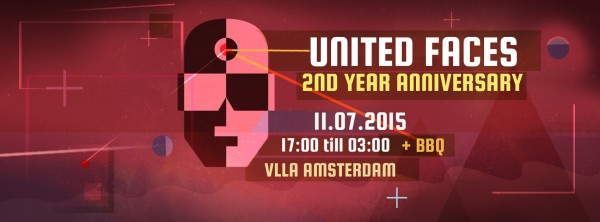 UNITED FACES // 2nd Year Anniversary