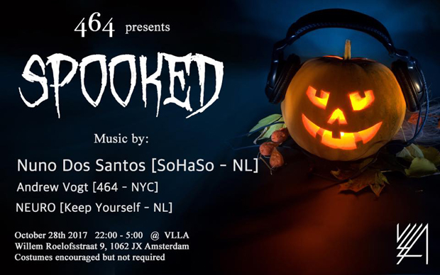 SPOOKED // Presented by 464 & Shenanigans
