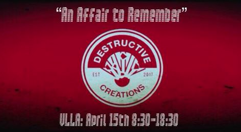 DESTRUCTIVE CREATIONS // AFTER PARTY // AN AFFAIR TO REMBEMBER