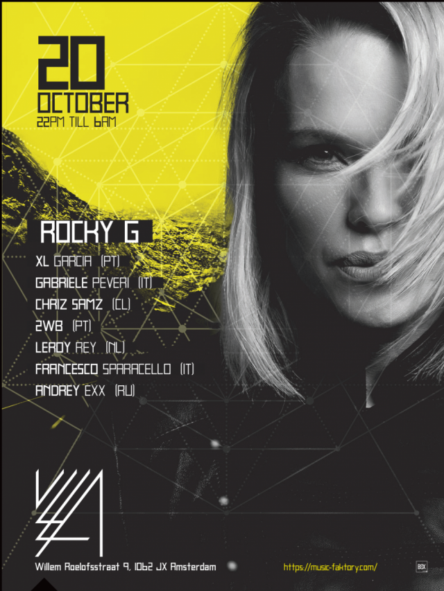 ADE // ROCKY G TECHNO FACTORY by MUSIC FAKTORY