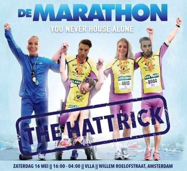 DE MARATHON - THE HATTRICK -- CANCELLED