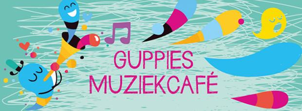 GUPPIES MUZIEKCAFÉ // Dans, zang, spel & muziek voor kids