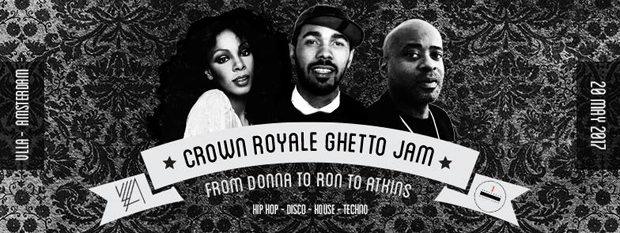 CROWN ROYALE GHETTO JAM // Anonymous Party People