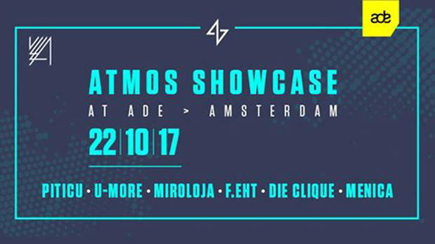ADE // ATMOS SHOWCASE // ADE Sunday Afterhours with Piticu, U-More & More