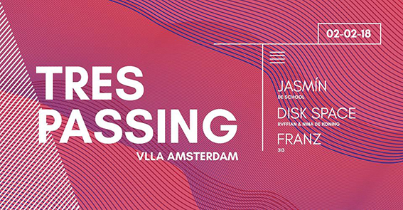 Trespassing // Jasmín, Disk Space & FRANZ